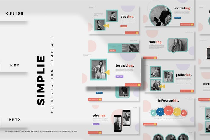 Simplie - Presentation Template