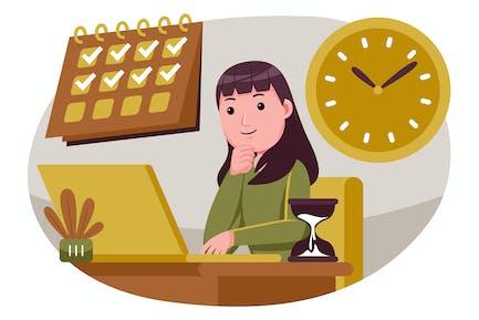 Иллюстрация бизнес-Вектор #13
