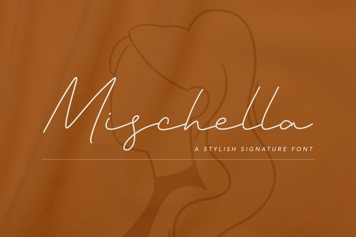 Thumbnail for Mischella Stylish Signature Font