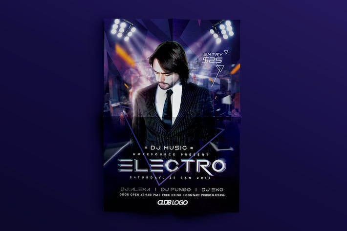 Thumbnail for électro Dupstep dépliant party