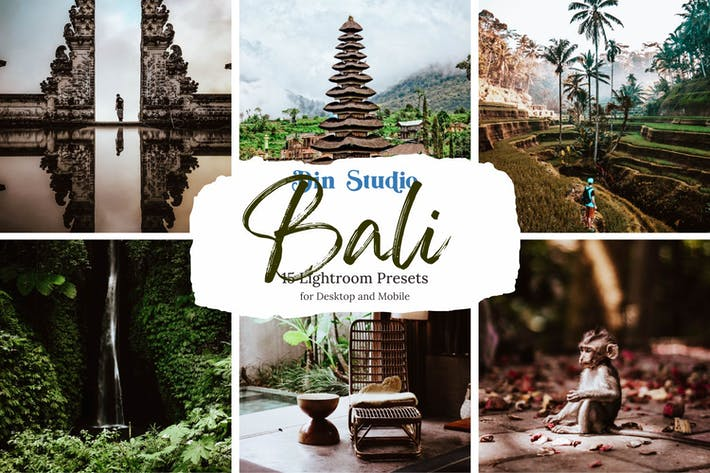 Thumbnail for Bali Lightroom Presets