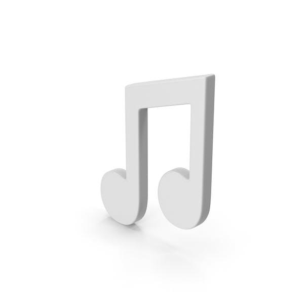Музыкальная нота символа