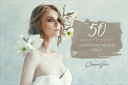 50 Perfect Portrait Lightroom Presets - Vol. 1