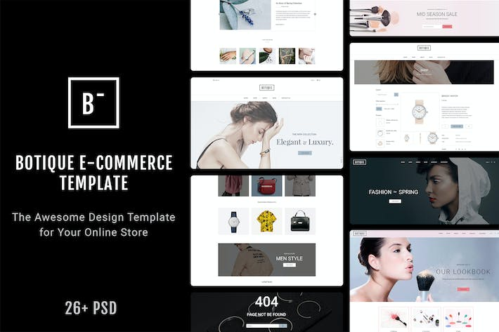 Thumbnail for Botique - Responsive Multi-Purpose eCommerce