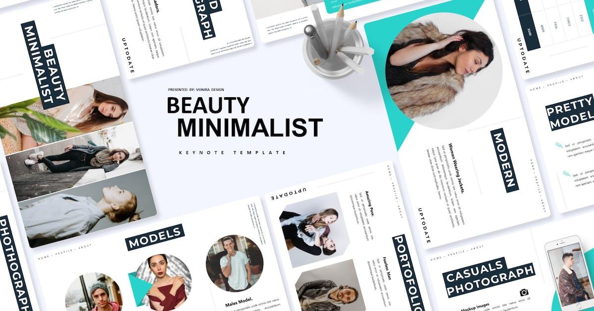 Download Beauty Minimalist | Keynote Template by Vunira