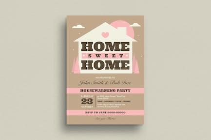 House Warming Invitation/Flyer