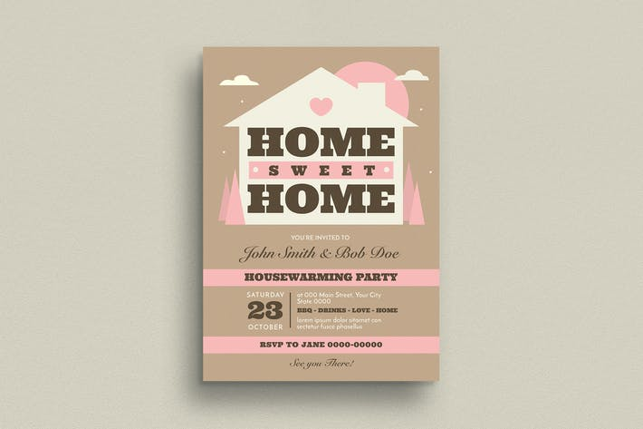 Thumbnail for House Warming Invitation/Flyer