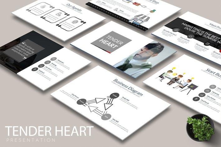 Thumbnail for TENDER HEART Google Slides
