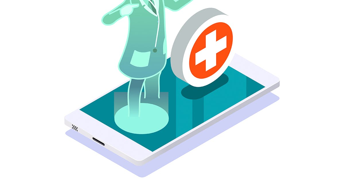 Clinic of medical health woman medicine diagnosis by aurielaki