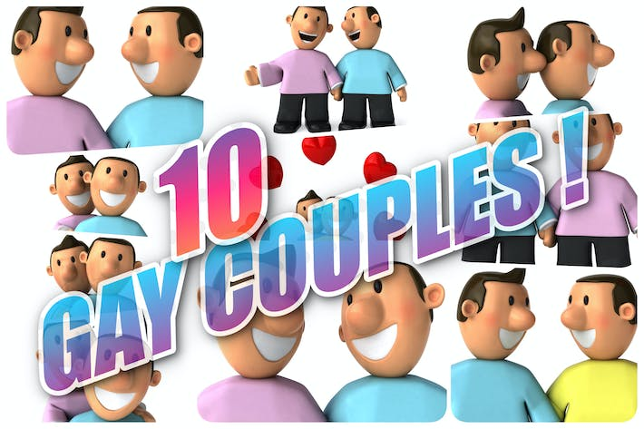Thumbnail for 10 Gay Couples !