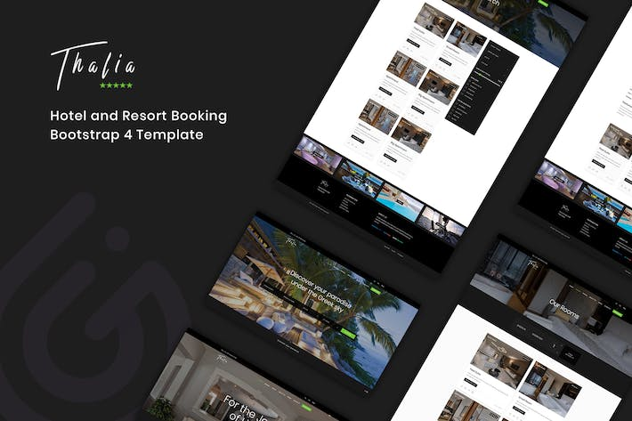 Thumbnail for Thalia - Hotel and Resort Booking Template