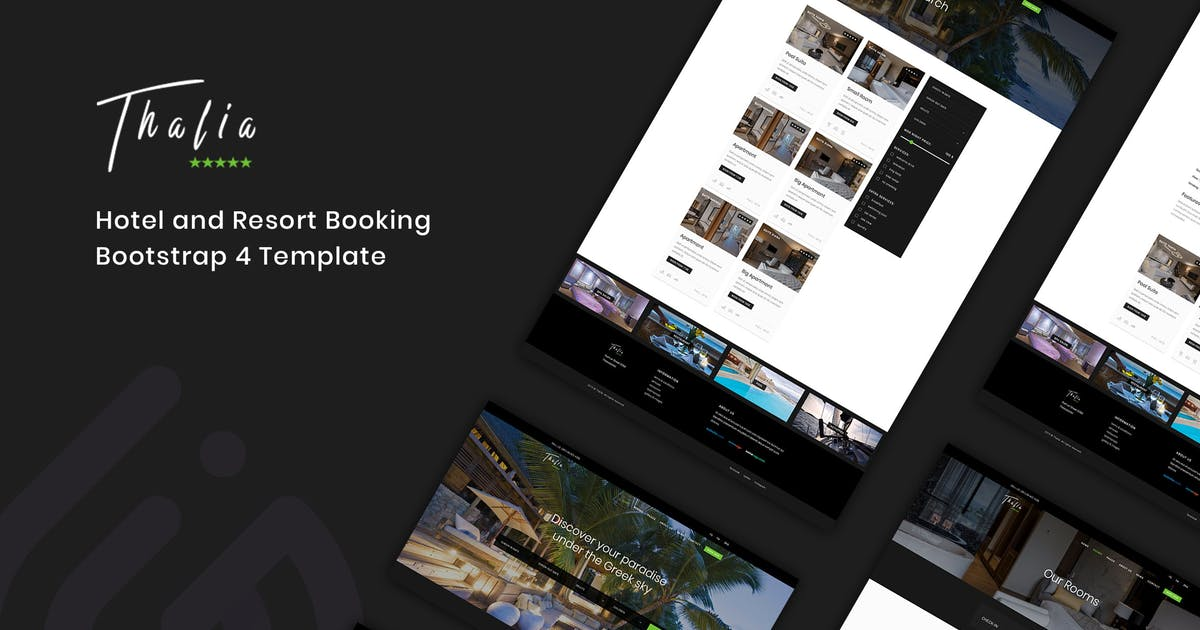Download Thalia - Hotel and Resort Booking Template by IG_design
