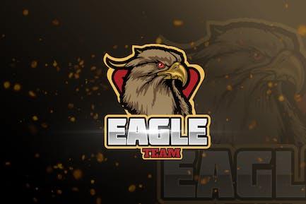 Eagle Mascot & eSports Gaming Logo