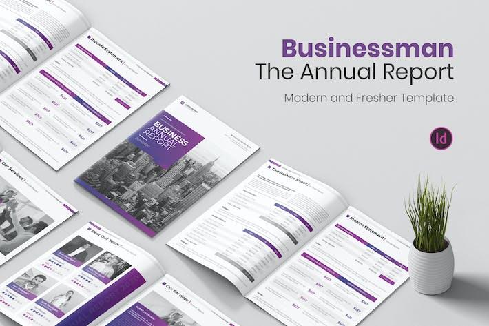 Businessman Annual Report