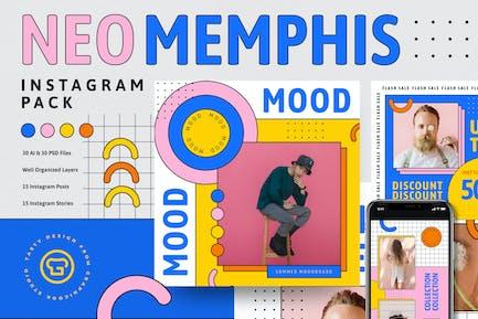 Neo Memphis Instagram Pack