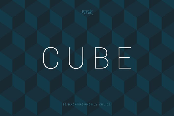 Thumbnail for Cube| Seamless Geometric Backgrounds | Vol. 02