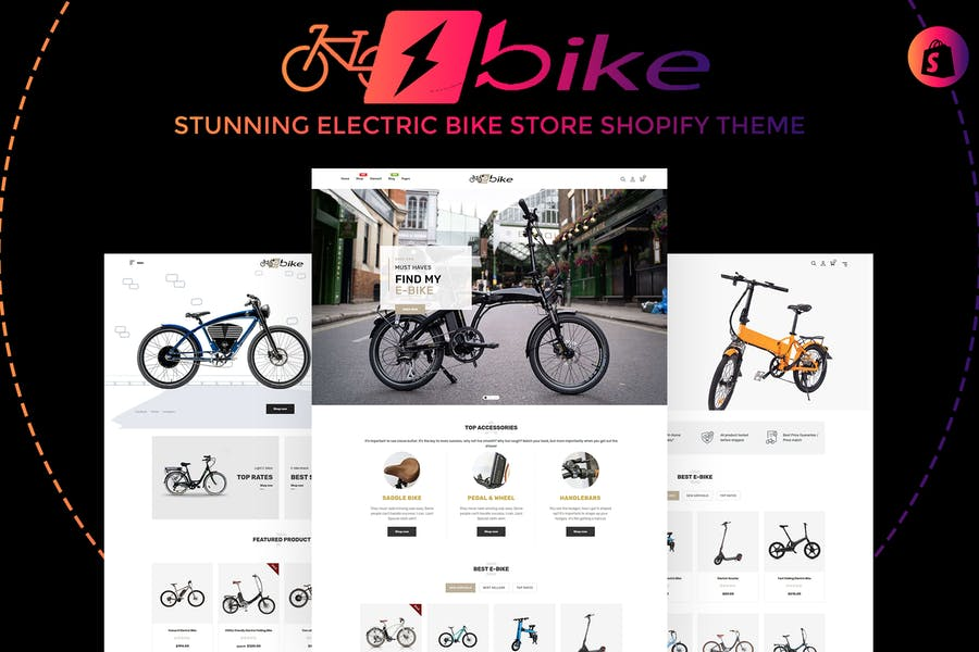 E-Bike | Stunning Electric Bicycle Store Shopify