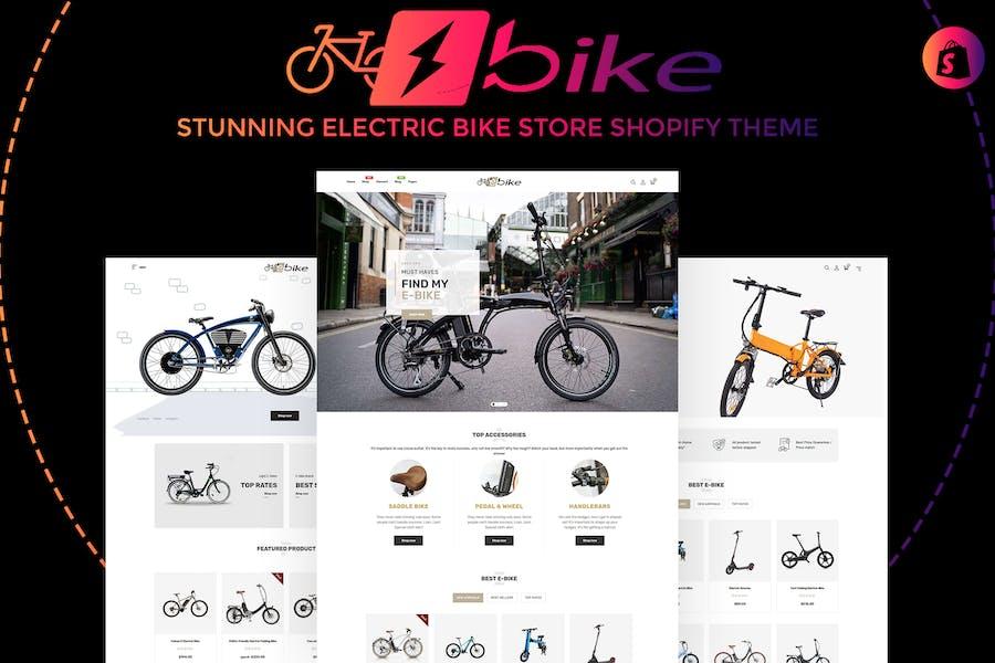E-Bike | Impresionante Tienda de Bicicletas Eléctricas Shopify