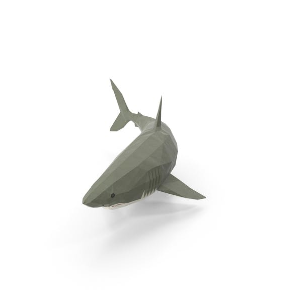 Thumbnail for Low Poly Shark