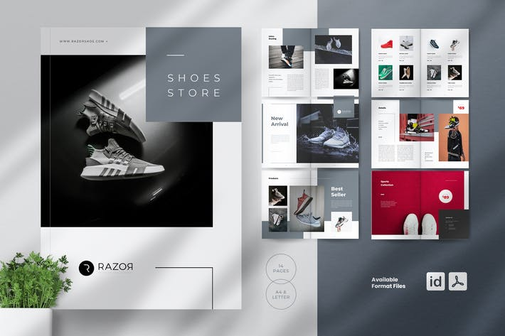 Thumbnail for RAZOR Shoes Catalogue Brochures
