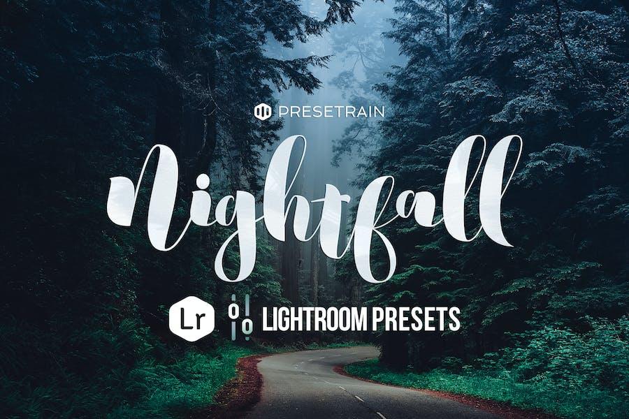 Nightfall Dark Lightroom Presets