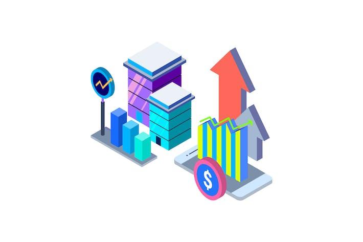 Thumbnail for Isometrische Darstellung des Wachstums
