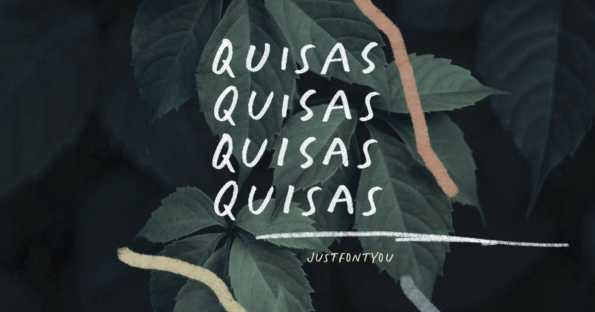 Download Quisas - Quirky Handwriting Fonts by irwanwismoyo