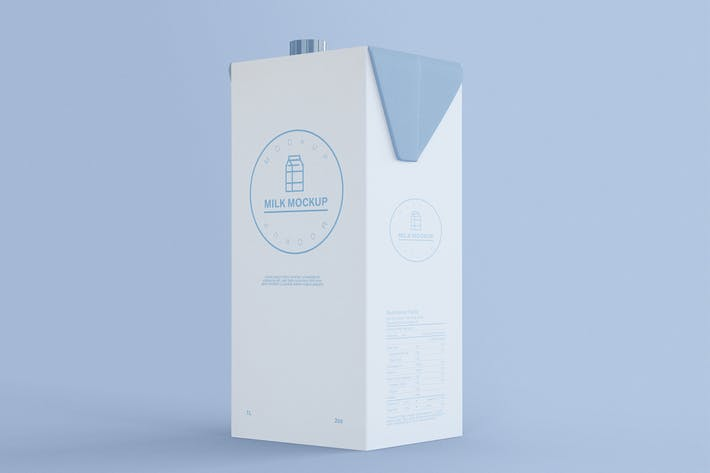 Cover Image For Milchflasche Mockup