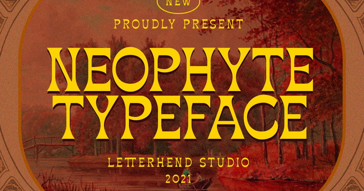 Download Neophyte Typeface by letterhend