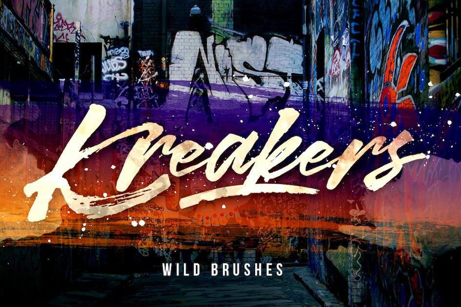 Download Kreakers Brush by putra_khan