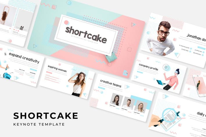 Thumbnail for Shortcake - Keynote Template