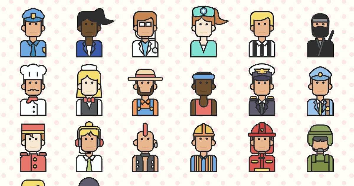 Download People Profession Icon by vintagio