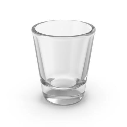 Vaso de chupito vacío
