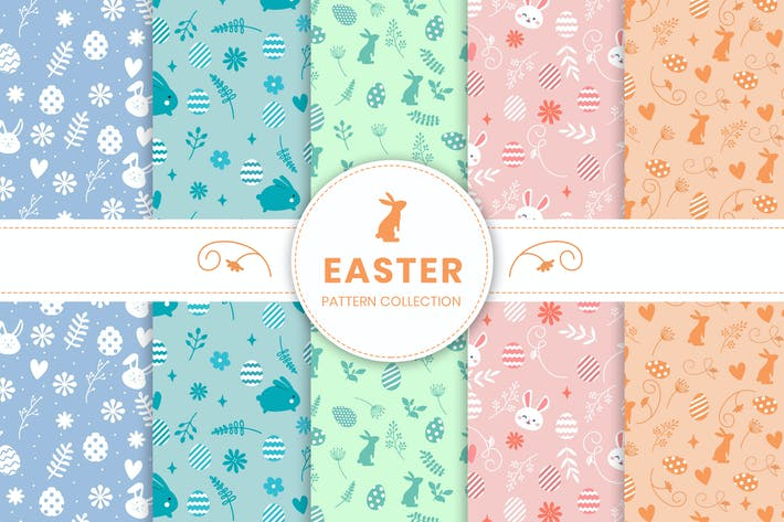 Thumbnail for Easter Day Pattern Collection