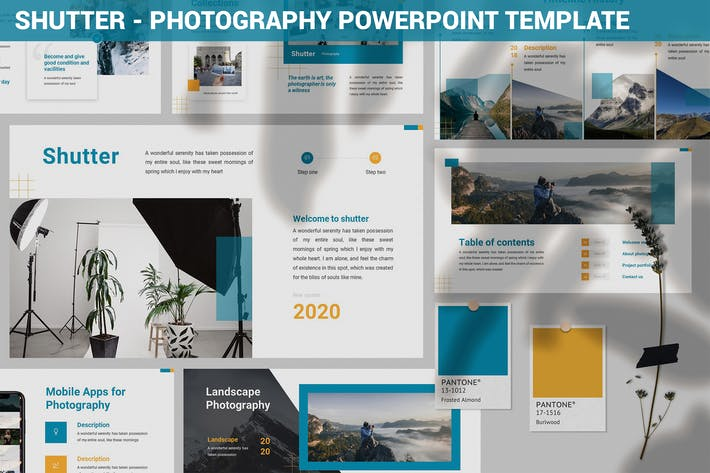 Thumbnail for Shutter - Photography Powerpoint Template