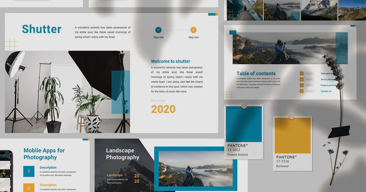 Download Shutter - Photography Powerpoint Template by SlideFactory