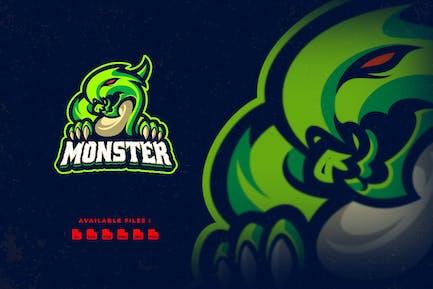 Monster Character Logo