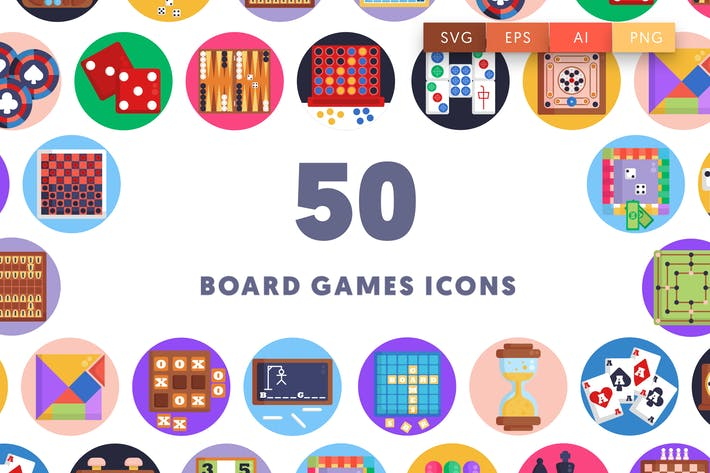 Board Games Icons