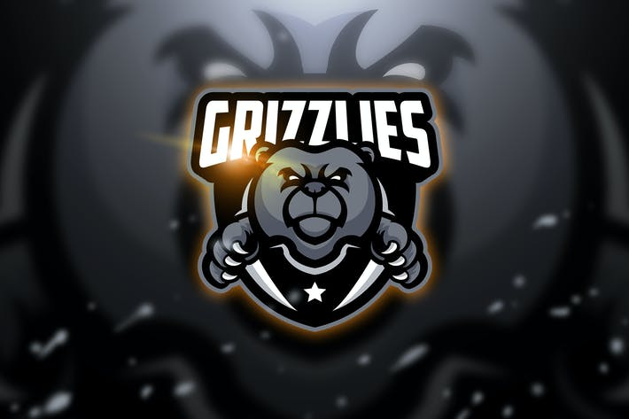 Thumbnail for Grizzlies - Mascot & Esport Logo