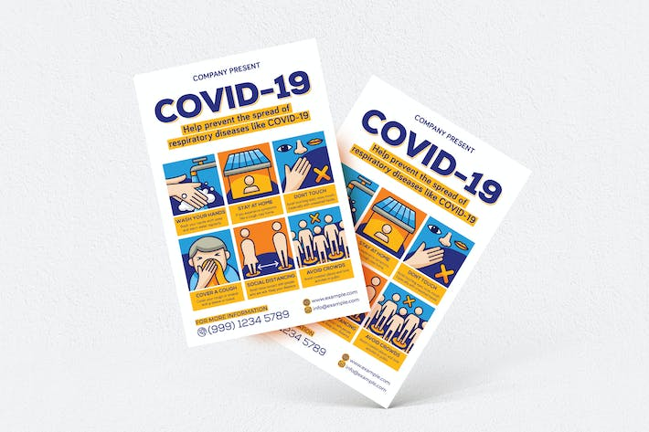 Thumbnail for Covid-19 Flyer
