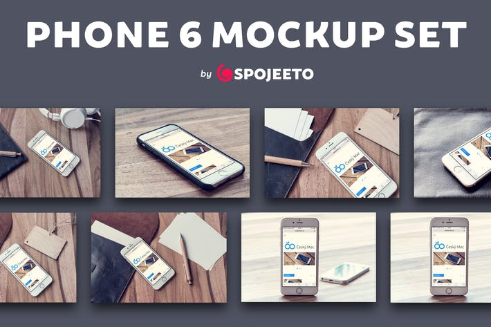 Thumbnail for Phone 6 - Photorealistic Mock-Up