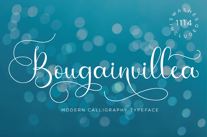 Thumbnail for Bougainvillea - Tipo de letra