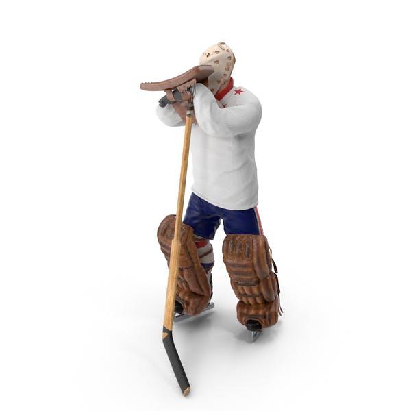 Thumbnail for Ice Hockey Goalie Standing Pose