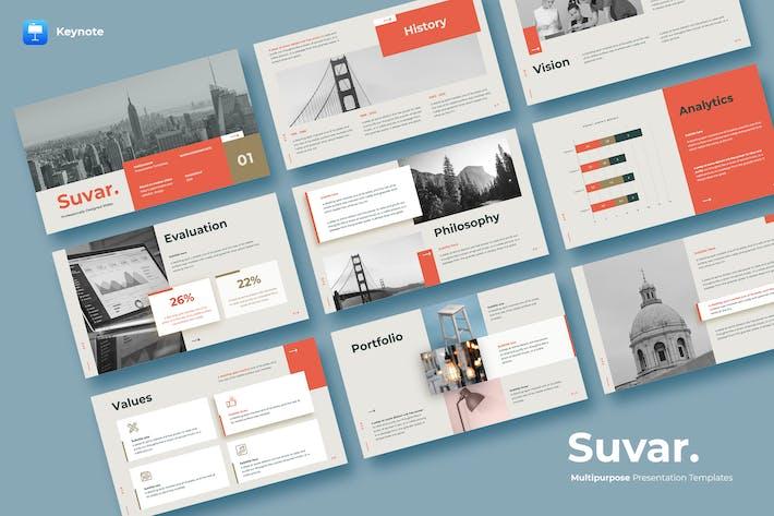 Thumbnail for SUVAR - Keynote Templates