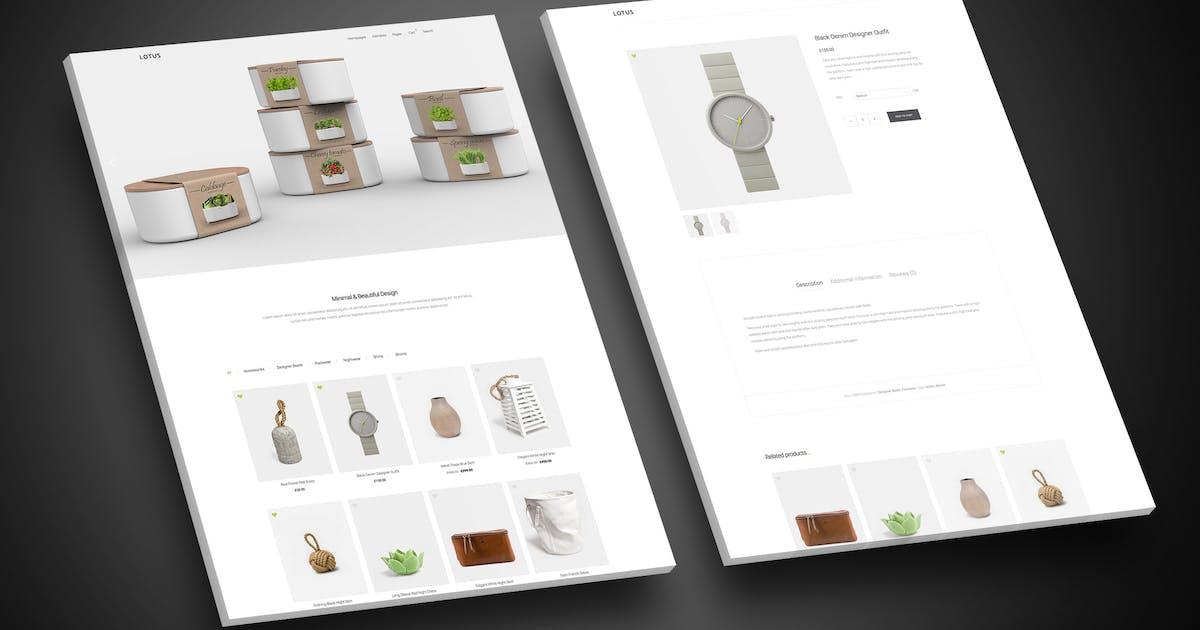 Lotus - Fresh & Modern WordPress WooCommerce Theme by eovo