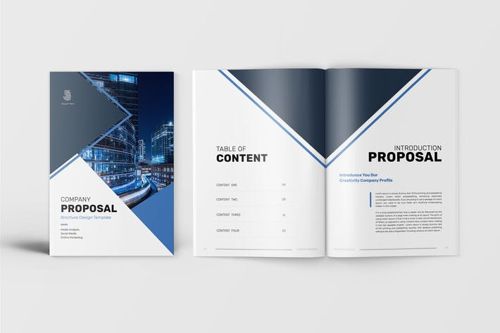 Thumbnail for Company Proposal Template