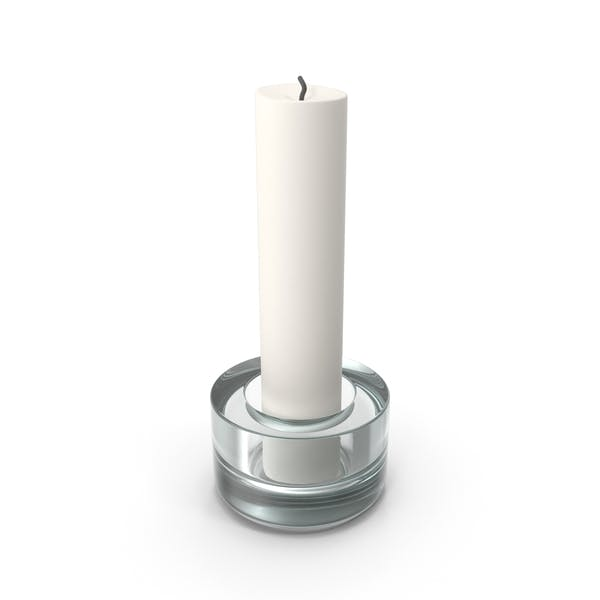 Cover Image for Candle In Glass Holder