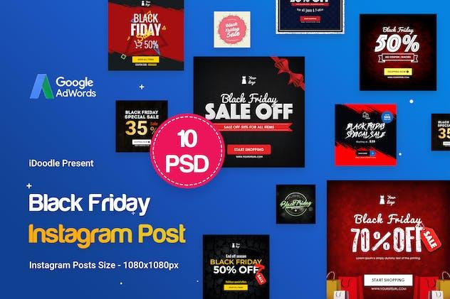 Black Friday Instagram Posts