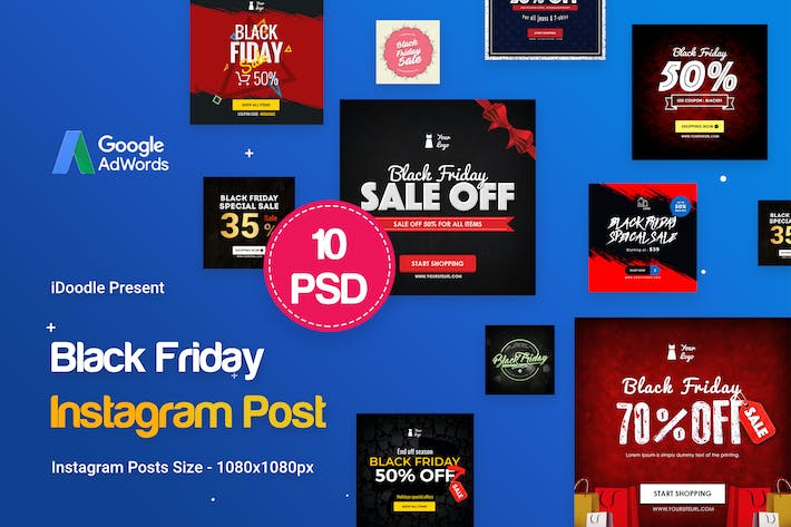 Cover Image For Black Friday Instagram Posts
