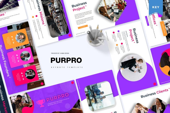 Thumbnail for Purpro | Keynote Template